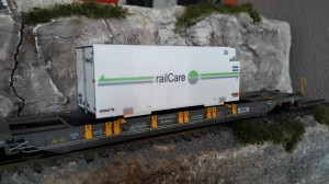 Koelcontainer railCare (H0)